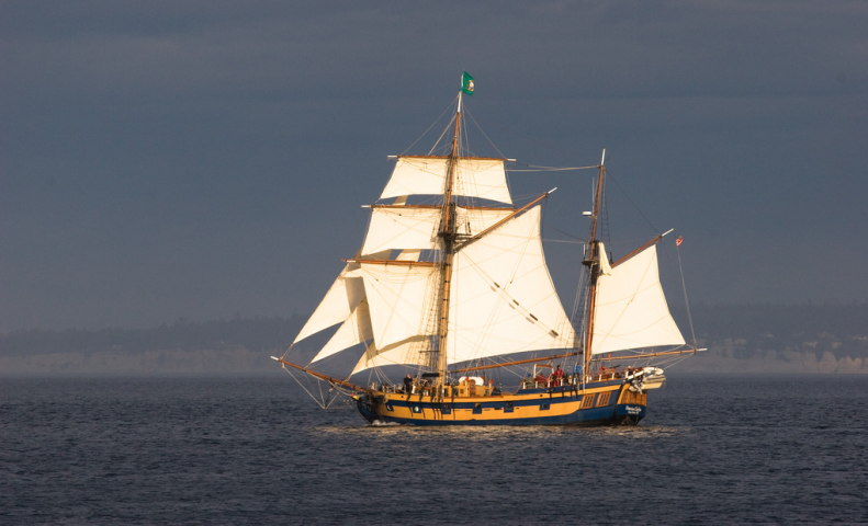 The Hawaiian Chieftan, as photographed by  Louis Benainous {LBena}