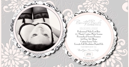 High-End Boutique Boudoir Photography Studio-Professional Makeup & Hair Included with Each Session
